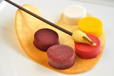 Painter's Palette with Sorbet - Dessert for Kids from Eddy Van Damme.