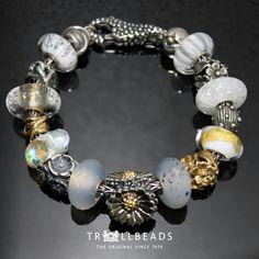 Trollbeads Daisy whites