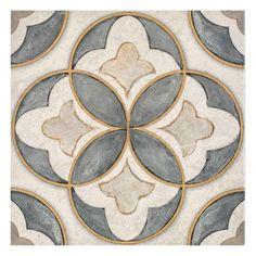 Shop Now Mullholland - Charcoal Limestone Tile Limestone Tile, Stone Tiles, Stone Mosaic, Stone Tile Flooring, Motif Art Deco, Tile Design, Decoration, Prints, Painting