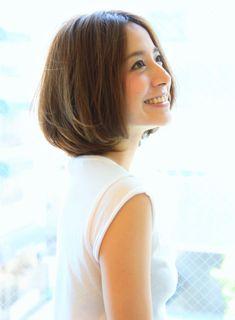 大人女性の柔らかボブ|髪型・ヘアスタイル・ヘアカタログ|ビューティーナビ