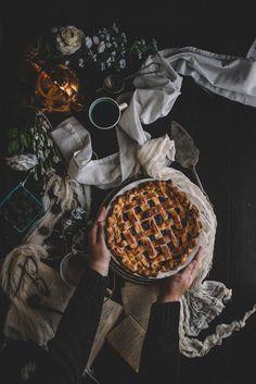 Blackberry, Blueberry, & Honey Lattice Pie + a Blackberry Honey Basil Julep | TermiNatetor Kitchen
