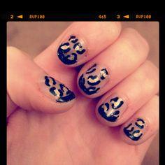 New nail art, soo easy to do!!
