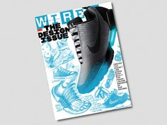 93b752fd8 Watch Design Legend Tinker Hatfield Draw Nike's New Self-Lacing Shoe for  Our Cover