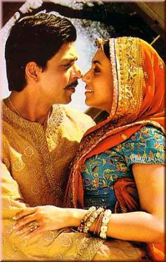 Shahrukh Khan and Rani Mukherji - Paheli (2005)
