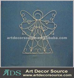 Angel Metal Wire Art