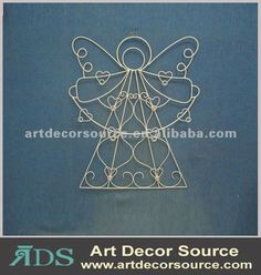 Angel Metal Wire Art