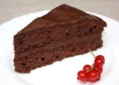 Čokoládová torta lenivý deň, recepty, Torty | Tortyodmamy.sk Slovak Recipes, Nutella, Sweets, Candy, Cookies, Baking, Desserts, Food, Polish