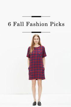 6 Fall Fashion Picks  /