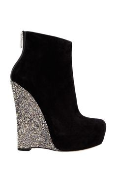wedges with sparkle