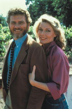 Falcon Crest: Robert Foxworth & Susan Sullivan