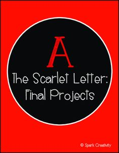 Finishing your study of The Scarlet Letter with this series of differentiated project prompts will give students a chance to shine by choosing the project that suits their talents. Makers can construct  a miniature set for a theatrical version of the book, artists can create a graphic novel, musicians can create a playlist, researchers can produce a magazine, etc.