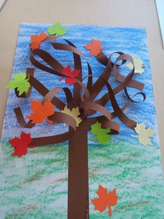 Podzimní strom 3D Hobbit, Art For Kids, Fall, Home Decor, Autumn, Preschool Crafts, Kunst, Art For Toddlers, Art Kids