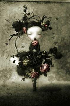 BeautyFul Flowers: black flowers walpapers