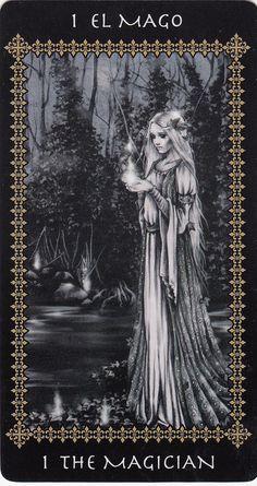 The Magician (Victoria Frances Tarot card) | Victoria Francé… | Flickr