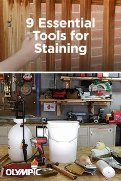 Staining your own deck? Learn what tools you will need before you head to the store with this quick how-to video.