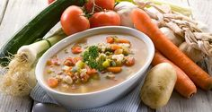 No Pasta Minestrone Soup Recipe Canning Vegetable Soups, Vegetable Soup Diet, Canning Soup, Canning Vegetables, Veggies, Mixed Vegetables, Healthy Soup Recipes, Diet Recipes, Easy Recipes