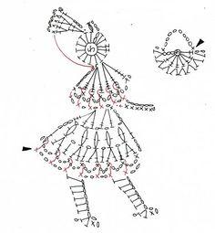 El baúl de la Nona: Aplicaciones a crochet, II parte