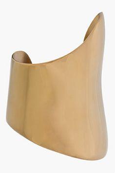 Gold Asymmetric Cuff