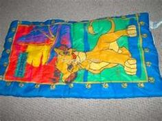 Lion King Sleeping Bag,, i also had the tent too!