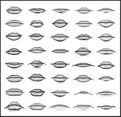 different types of lips