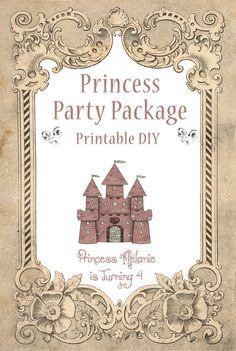Printable Princess Party
