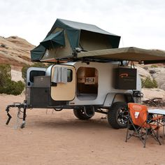 Rediscover the open road with one of these four innovative campers.