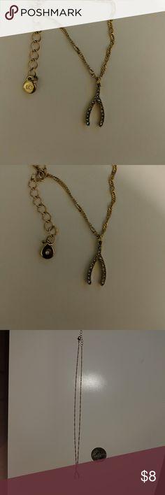 Wishbone necklace Lauren Conrad wishbone necklace LC Lauren Conrad Jewelry Necklaces