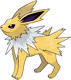 Pokédex entry for Jolteon containing stats, moves learned, evolution chain, location and more! Pokemon Team, Ash Pokemon, Pokemon Stadium, Type Pokemon, Pokemon Pokedex, Pokemon Eevee Evolutions, Pokemon Sketch, Charts