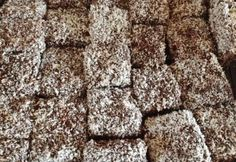 Diabetikus kókuszkocka Diabetic Recipes, Diet Recipes, Food And Drink, Sweets, Dishes, Healthy, Crafts, Fitness Foods, Diet