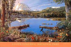 Lassen Volcanic National Park Poster
