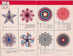 Spirograph 1967 pages 10 & 11