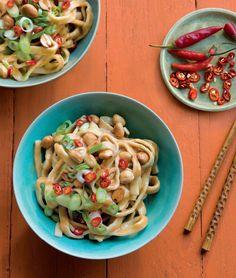Sesame Noodles with Peanuts & Thai Chiles | Williams-Sonoma Taste