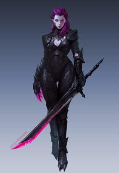 Nightblade Assassin by jeffchendesigns on DeviantArt