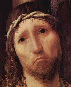 ANTONELLO DA MESSINA (1430 - 1479)    Ecce Homo - Detail