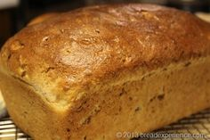 √ Sprouted-Rye-Spelt-Bread -  Recipe adapted from The Pleasure of Whole-Grain Breads by Beth Hensperge