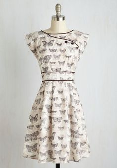 Topiary Tour Dress in Butterflies