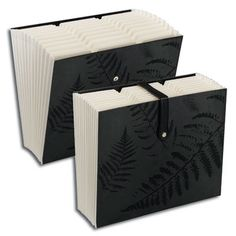 #smeadcontest Secure Expanding File  The 12-pocket Secure Expanding File gives you easy access to documents inside while the strap closure provides security without getting in the way. File comes in a modern black fern print with white interior that will compliment any office or home decor.   www.facebook.com/cluborganomics  www.twitter.com/smeadorganomics  www.youtube.com/smeadorganomics  www.Gplus.to/Smead  www.pinterest.com/smeadorganomics