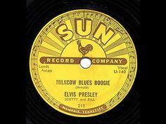 "Elvis Presley ""Milkcow Blues Boogie"" RARE VISUALS Sam Phillips Sun Records"