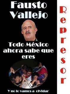 Fausto Vallejo, parte del #NuevoPRI que tanto pregona @EPN. #NosVaLlevarLaChingada
