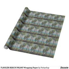 FLAGLER BEACH PALMS Wrapping Paper