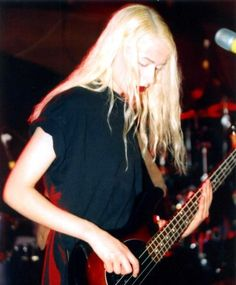 D'arcy Elizabeth Wretzky of Smashing Pumpkins circa 1996 one of the best concerts I ever went to. mg