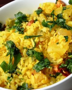 Low FODMAP Vegetarian Recipe and Gluten Free Recipe - Flattened rice with poha potatoes http://www.ibscuro.com/low_fodmap_recipe_flattened_rice_with_poha_potatoes.html