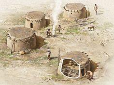 Göbekli Tepe: at least 7000 years older than Stonehenge Ancient Aliens, Ancient Egypt, Ancient History, Site Archéologique, Ancient Near East, House Illustration, Ancient Civilizations, Ancient Artefacts, Stone Houses