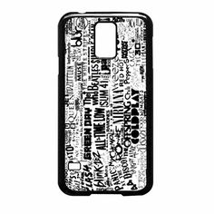Band Collage Mayday All Time Low The Beatles Paramore Samsung Galaxy S5 Case