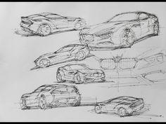 2012 BMW Zagato Coupe - Design Sketch 3 - 1280x960 - Wallpaper