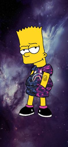 The terrific Bart Bape Wallpapers Wallpaper Cave With The Most Awesome The Simpsons Bape Wallpaper picture below, is segment of View Supreme Iphone Wallpaper, Simpson Wallpaper Iphone, Cartoon Wallpaper Iphone, Sad Wallpaper, Disney Wallpaper, Tumblr Wallpaper, Galaxy Wallpaper, Wallpaper Backgrounds, Simpsons Drawings