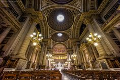 L'église Sainte-Marie-Madeleine by Michael Wiejowski on 500px #France #Paris #Travel #Architecture #Church #Cathedral