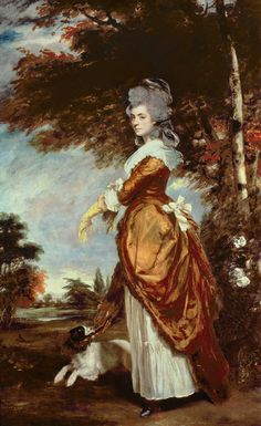 1780 Mary Amelia First Marchioness of Salisbury by Sir Joshua Reynolds