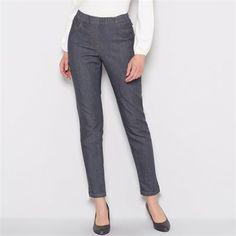 Mom's jeans φέτος: Ελαστικό τζιν με λάστιχο γύρω από τη μέση