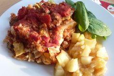 Gluten Free Dairy Free Lazy Cabbage Roll Casserole for the Freezer